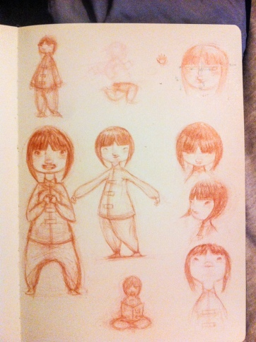 Feng Feng sketches