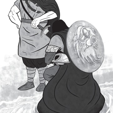 Olafur-kneels