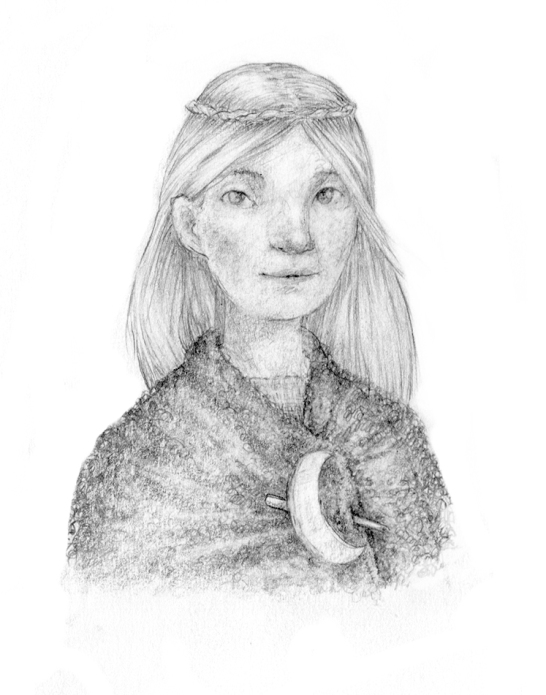 Aethne, 12-year-old druidess