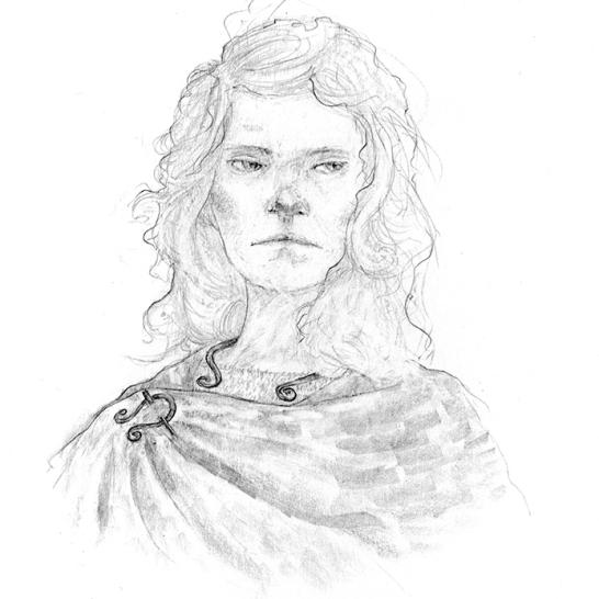 Nova, a druidess
