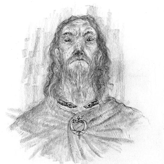 Urien. Proper warrior. Mean bugger.