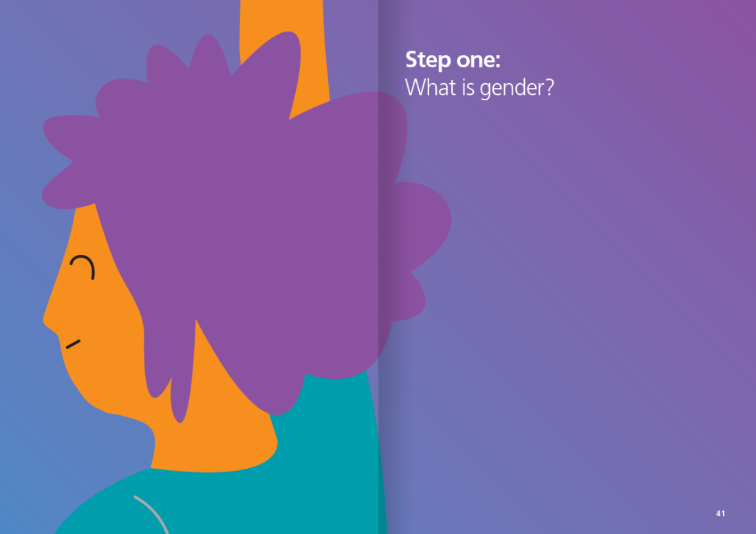 Layout and illustration for Girlguiding